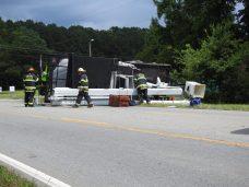 Accident - Utility Truck, US70 E, 06-19-20-2ML