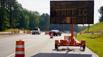Highway 42 East Traffic shift 06-19-20-2JP