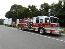 Fire - Tractor Trailer I-95, Keen Road, 07-13-20-3ML