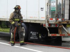 Fire - Tractor Trailer I-95, Keen Road, 07-13-20-6ML