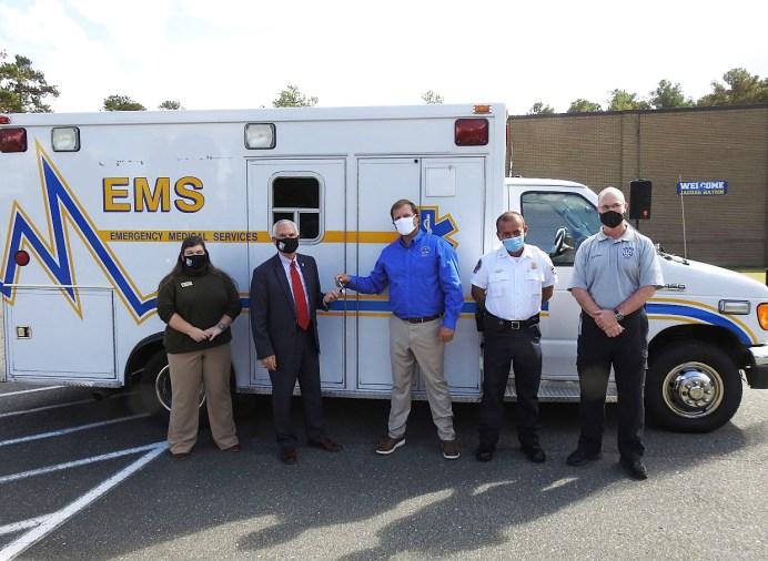 EMS Ambulance Donation 10-26-20-1M
