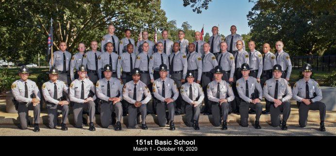 Highway Patrol School Graduation 10-16-20-1