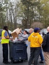 Johnston County Register of Deeds Shred Event. 2019 Photo