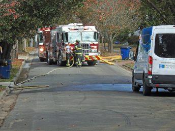 Smithfield gas leak - S 1st Street 11-25-20-1M