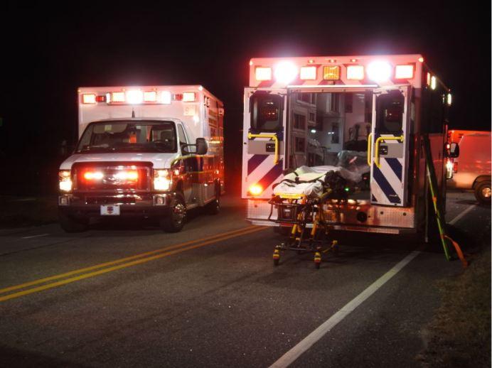 Accident - Glen Laurel Road, Vinson Road 12-12-20-2M