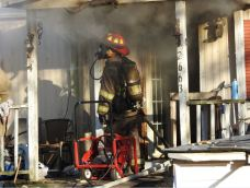 Fire - Mobile Home, NC 96 South, 12-28-20-2M