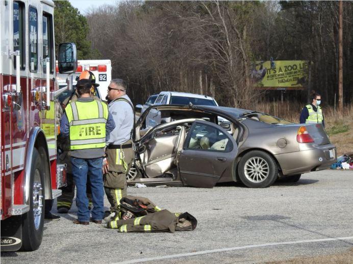 Accident - NC96, Heath Road 01-22-21-13M