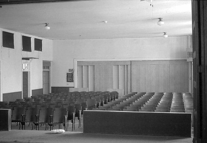 Princeton Graded School Auditorium. Photo courtesy Johnston County Heritage Center and Keep Johnston County Beautiful.