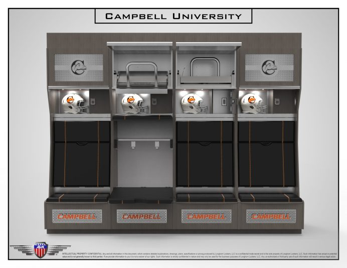 Campbell Football Locker Room 02-04-21-2