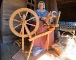 spinning at aycock farm
