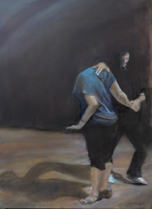 Connection: West Coast Swing at Grace Church, 2017 30x40, Oil on Canvas (Jodee Clifford / 2017)