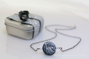Swarovski Crystal Orion's Belt Necklace