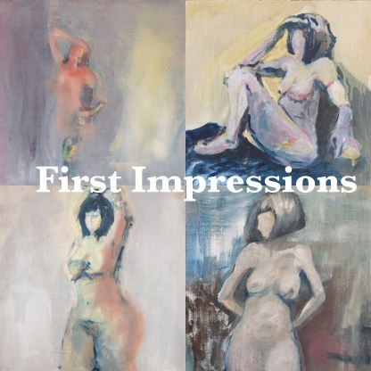 First Impressions figurative oil paintings