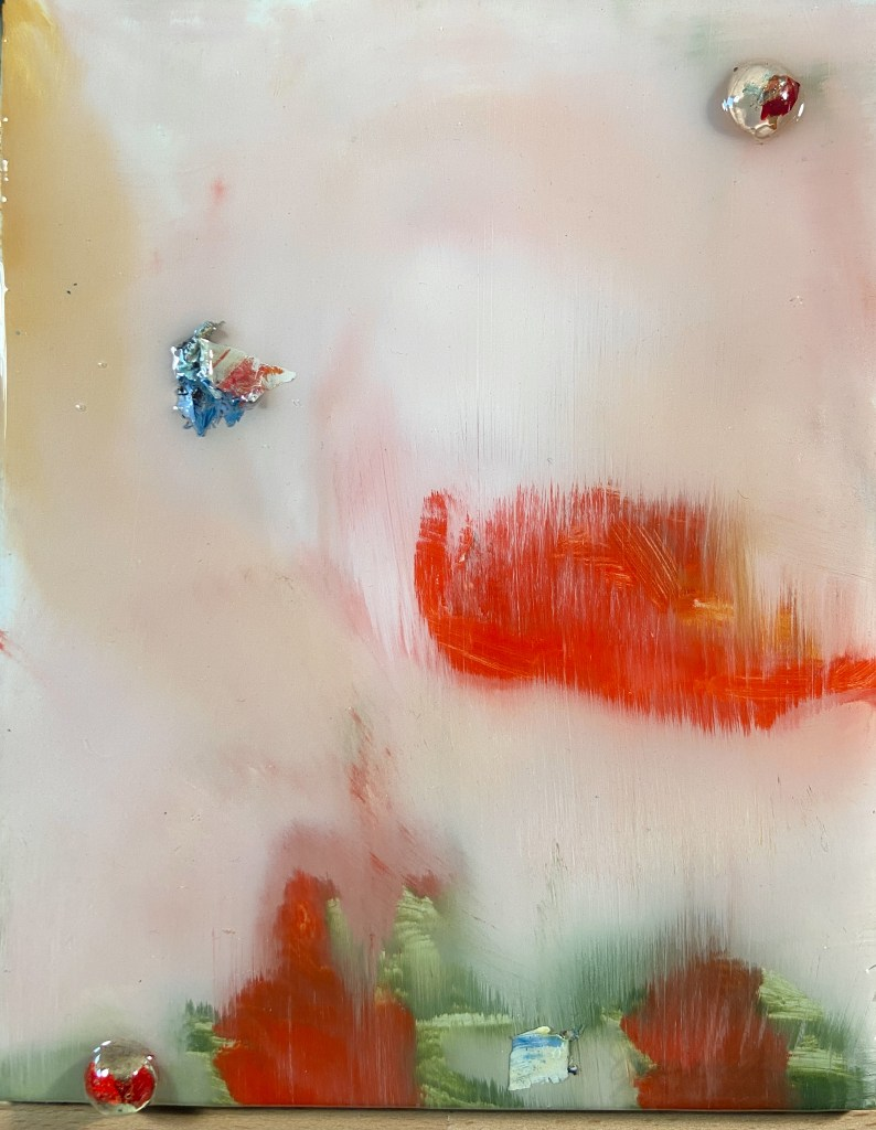 gallery of abstract art called human paint forms
