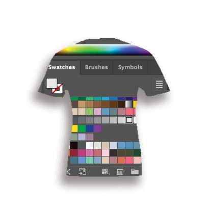 AI Swatch Library Bella Canvas 3001 t-shirts