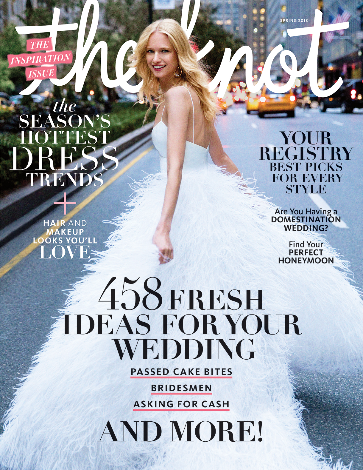 FEATURED IN THE KNOT MAGAZINE SPRING 2018 Jodee Debes