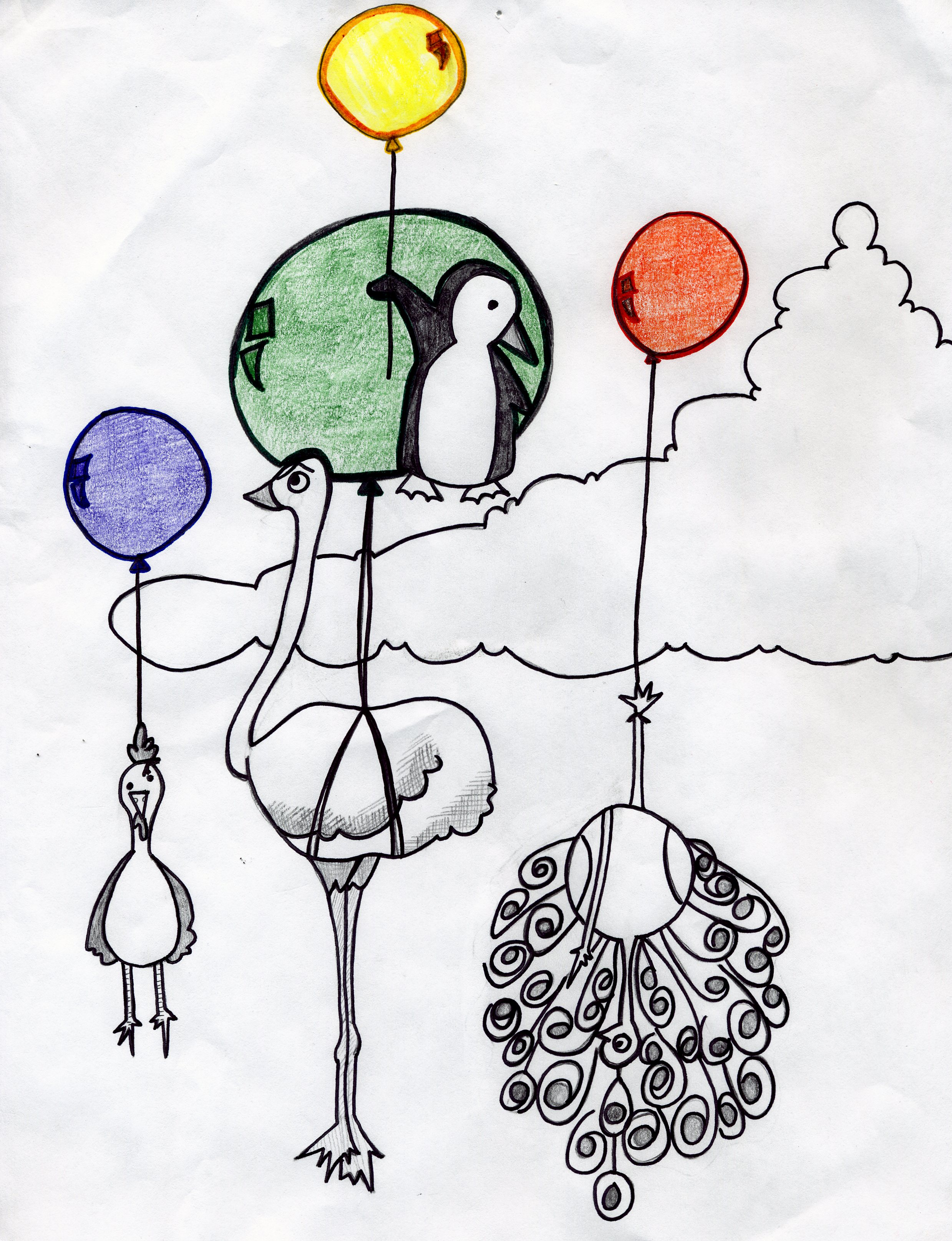 """""""In order to make the time for such an all-consuming task, many balloons of less important activities were released."""""""