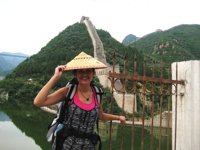 Elya on the Great Wall of China last summer