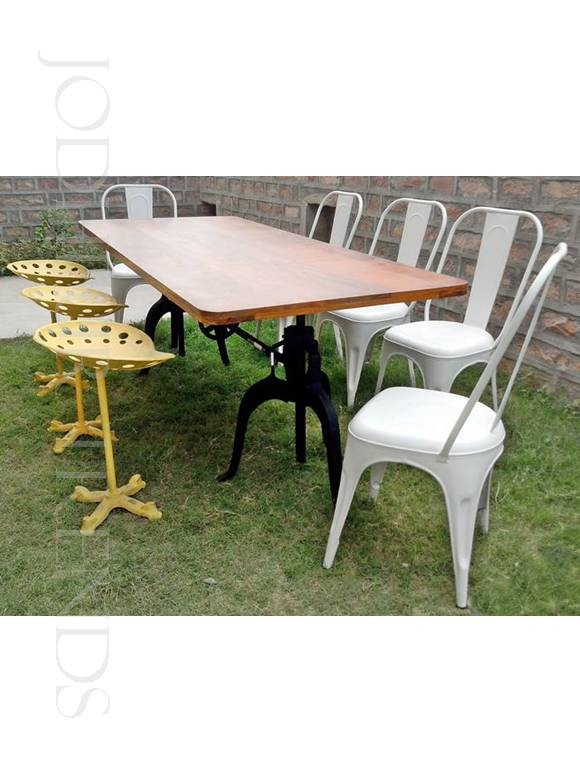 Vintage Dining Set | Restaurant Pub Table And Chairs