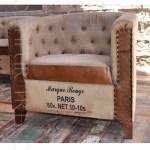 Canvas Sofa | Contemporary Restaurant Furniture