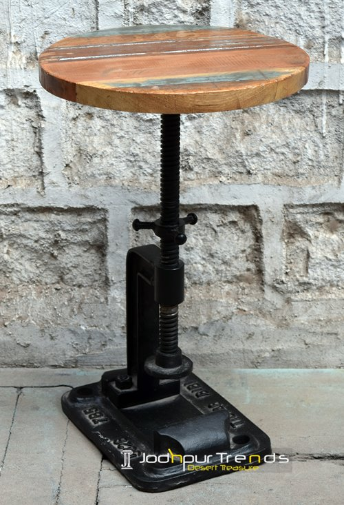 Cast Iron Stool | Commercial Bar Tables And Stools