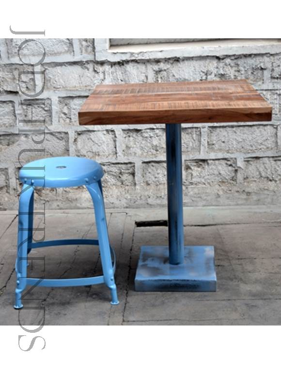 Small Cafe Table & Chair Set | Industrial Furniture Cafe