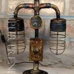 Industrial Pipe Lamp | Industrial Furniture For Bar