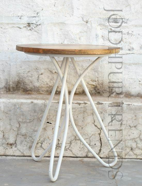 Cafe Stool in White | Furniture Retro