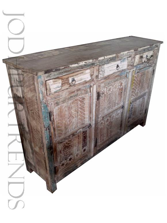Credenza in Distressed Design | Furniture India