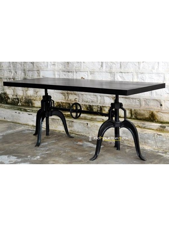 cast iron dining tables designs