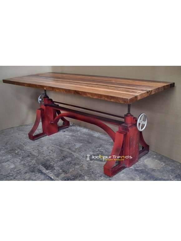 Vintage Industrial Table | Cafeteria Table