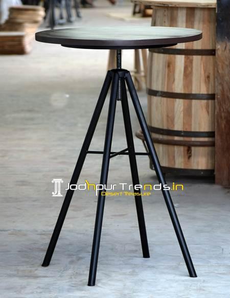 Round Bar Table, Bar Table, Pub Table, Table Design for Restaurant