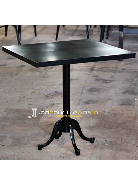 Metal Outdoor Table Cheap Restaurant Furniture