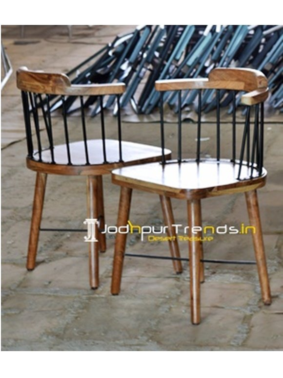 Acacia Wood Chair Cafe and Restaurant Furniture