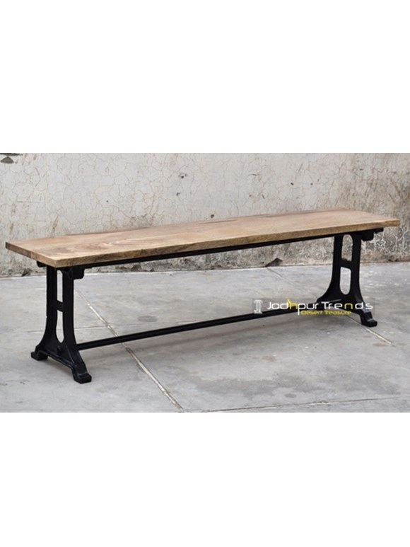 Cast Iron Commercial Use Garden Bench