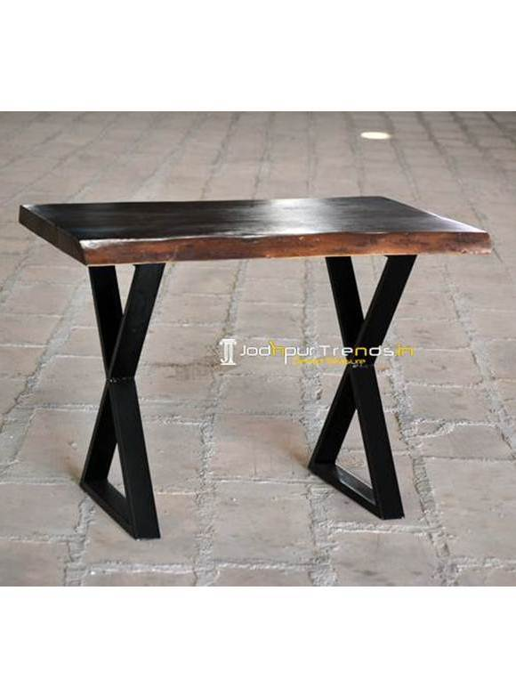 Cross Leg Table Farmhouse Table and Chairs