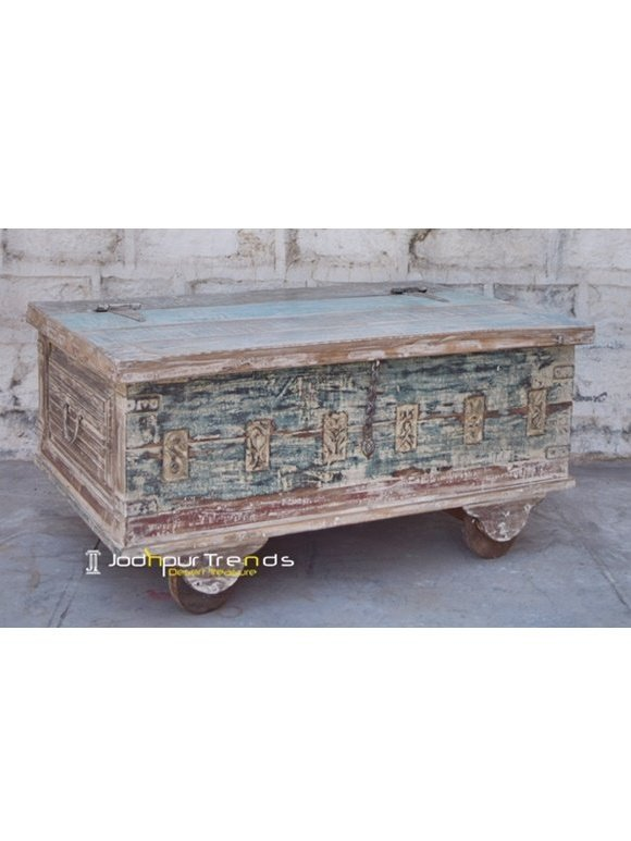 Reclaimed Trunk Jodhpur Wooden Furniture Manufacturers