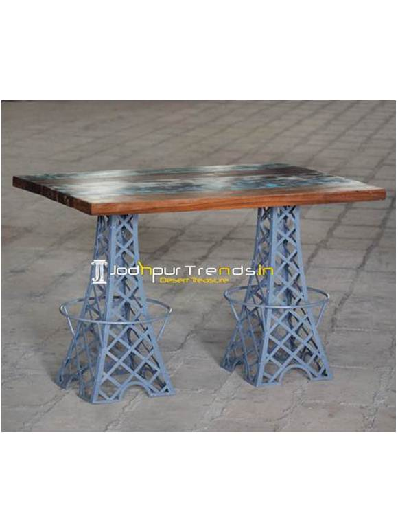Shabby Chic Dining Table Retro Hotel Furniture