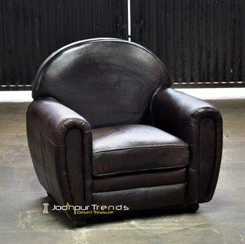 Genuine Indian Goat Leather Sofa Maker