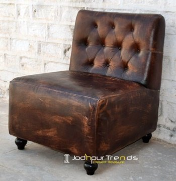 Distress Original Leather Sofa Supplier from India