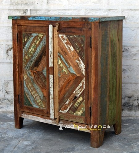 Wooden Panel Design Reclaimed Cabinet Furniture