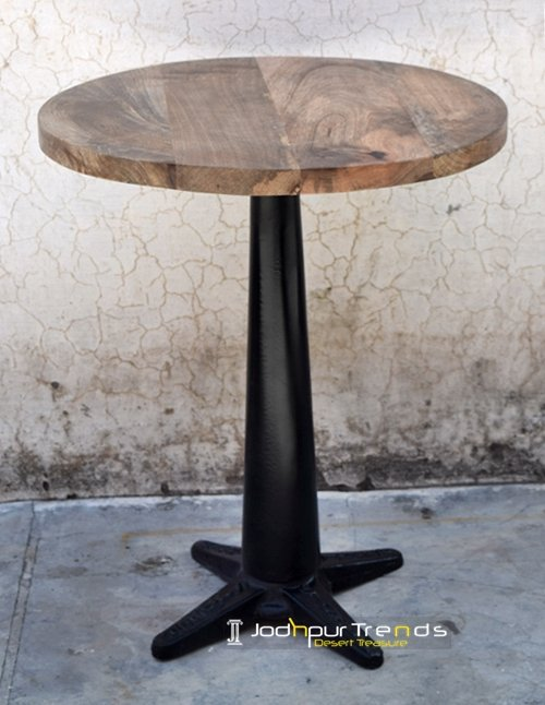 Heavy Metal Cast Iron Indian Center Table Furniture Design