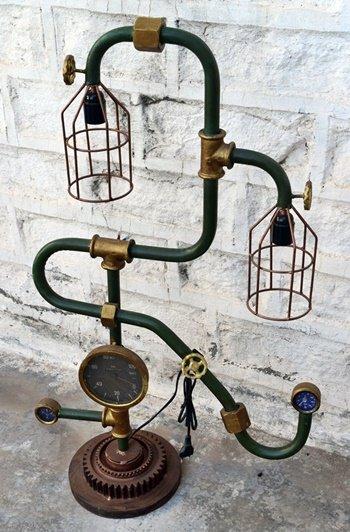 Sanitary Pipe Indian Export Lamp Furniture