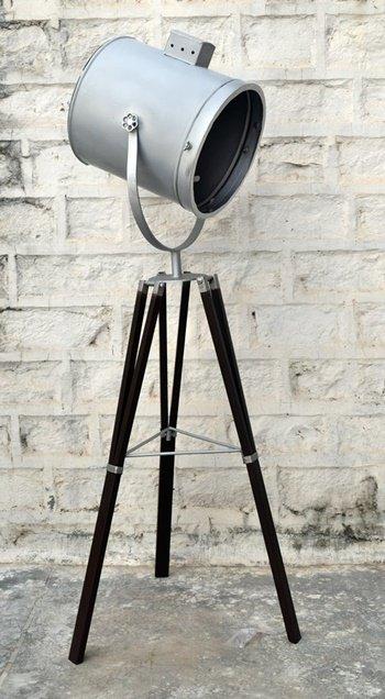Handcrafted Metal Industrial Floor Lamp Furniture