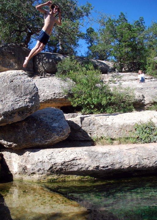 Jacob's Well In Wimberley, Texas