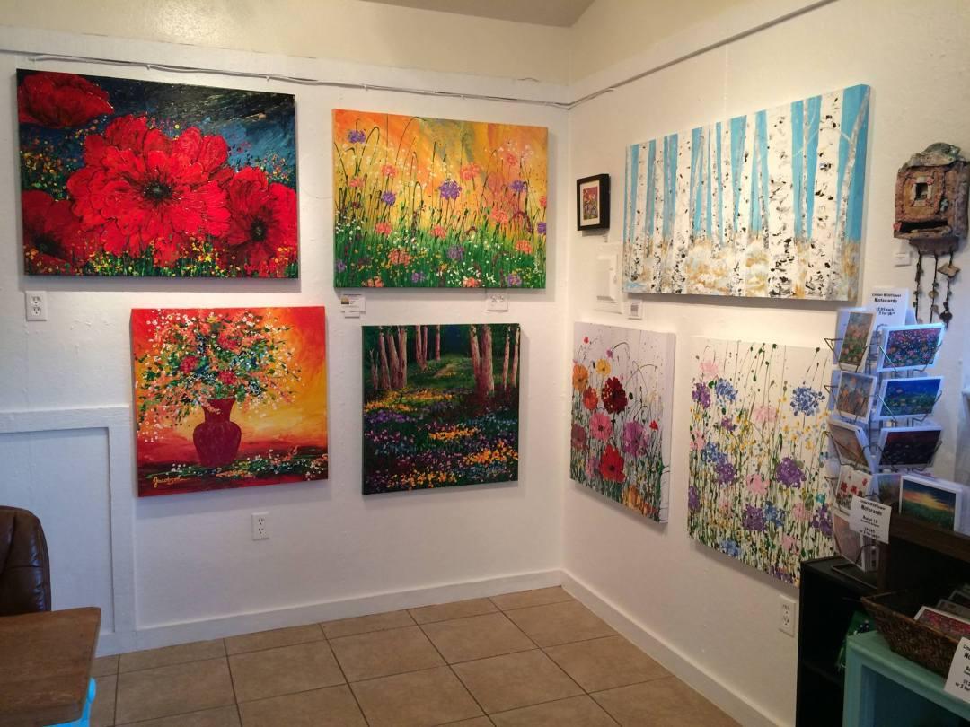 Paintings of Texas Wildflowers from Linda Calvert Jacobson