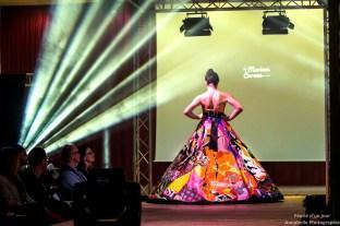 2 Robe réalisée pour la créatrice Mariane Careme pour le défilé TREMPLIN DE STYLES, Lille [1600x1200]