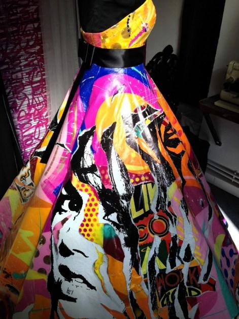 4 Robe réalisée pour la créatrice Mariane Careme pour le défilé TREMPLIN DE STYLES, Lille [1600x1200]