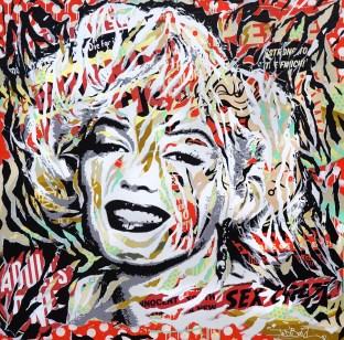 POP EYES by Jo Di Bona 2016 150x150 technique mixte sur toile
