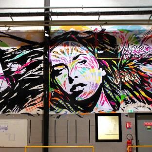 Mur entreprise LEGALLAIS, Hérouville by Jo Di Bona